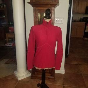 Prada Red Long Sleeves w/ Zipper Medium